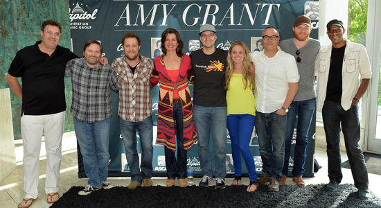 Amy Grant CD launch party in Nashville