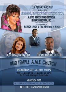 Dorothy Norwood at Reid Temple