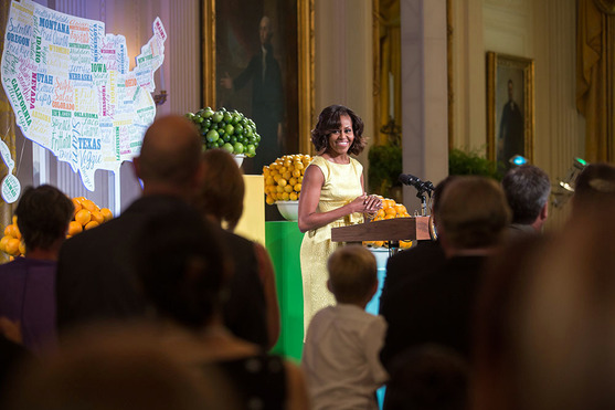 Michelle Obama at State Dinner