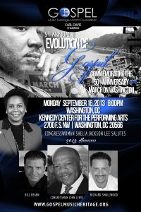 Evolution of Gospel honorees