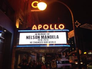 Apollo Theater honors Nelson Mandela