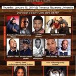Gospel artists take to the court for Celebrity Basketball Game