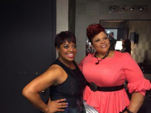Tamela Mann took the audience to church on The View